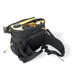 Camera Tour FX Recycled Lumbar Photo Bag in Black
