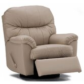 Orion Leather Chaise Recliner