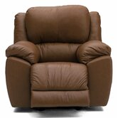 Benson Leather Chaise Recliner