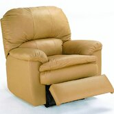 Aria Leather Chaise Recliner