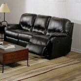 Mara Leather Reclining Sofa