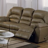 Taurus Leather Reclining Sofa