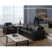 Brock 2 Piece Leather Living Room Set