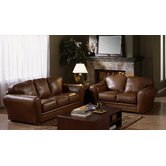 Natalia 2 Piece Leather Living Room Set