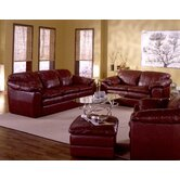 Shanelle 3 Piece Leather Living Room Set