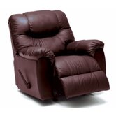Regent Leather Chaise Recliner
