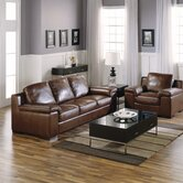 Vasari Leather Sofa