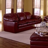 Shanelle Leather Sleeper Sofa