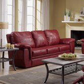Brunswick Leather Sleeper Sofa