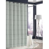 Mar-A-Lago Stripe Shower Curtain in Morning Mist