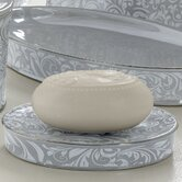 Bedminister Scroll Soap Dish in Surf Spray