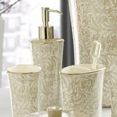 Bedminister Scroll Lotion Dispenser in Crème Brule