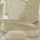 Bedminister Scroll Tray in Crème Brule