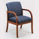Weston Guest Chair with Wood Leg