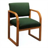 Contour Guest Chair with Open Back