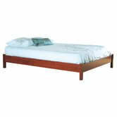 Vintage Queen Platform Bed