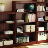 Axess Four Shelf Bookcase in Royal Cherry