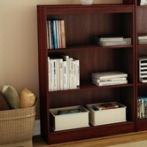 Axess Three Shelf Bookcase in Royal Cherry