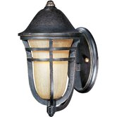 Westport Vx 1 Light Outdoor Wall Light with Mocha Cloud Glass