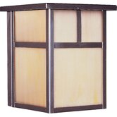 Craftsman Small Outdoor Wall Lantern - Energy Star