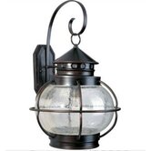 Portsmouth Outdoor Wall Lantern in Oil Rubbed Bronze
