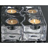 "3.37"" Puzzle Votive (Set of 4)"