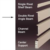 RivetRite Parts - Standard Double Rivet Angle Beams