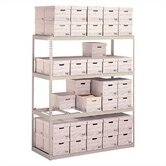 Record Storage Shelving Starter Units - With Box Supports