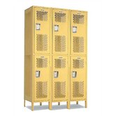 Invincible II Lockers- Triple Tier- 3- Section (Unassembled)