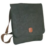 Life Vertical Messenger Bag in Olive