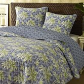 Palm Breeze Cotton Quilt Set