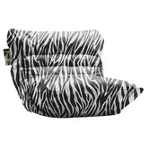 Big Joe Roma Zebra Bean Bag Lounger