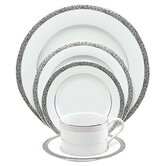 Sentiments Platinum Filigree Dinnerware Set