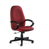 High-Back Pneumatic Tilter Office Chair with Arms