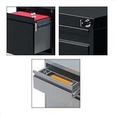 "G Series 19"" D Box/Box/File Pedestal"