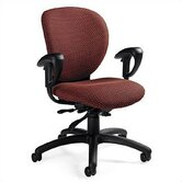 Low-Back Multi-Tilter Office Chair with Arms
