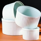 Pleated 12 oz. Deep Souffle Dish