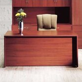 "Hyperwork 66"" W Single Pedestal Credenza"