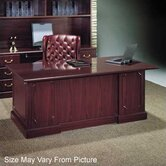 Wyndham 72&quot; Single Pedestal Executive Desk