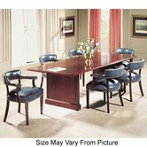 Traditional 96&quot; W Rectangle Conference Table
