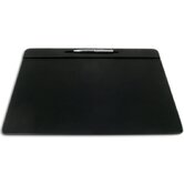 1000 Series Classic Leather 17 x 14 Pen Well Conference Pad in Black