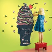 Ice Cream Cone Chalkboard