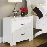 Astrid 2 Drawer Nightstand