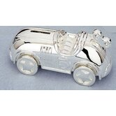 Children's Giftware 6.75&quot; Race Car Coin Bank