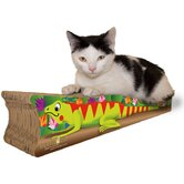 Small Iguana Recycled Paper Cat Scratching Board