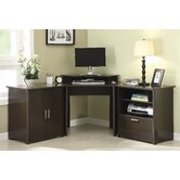 Concord Corner Computer Desk (3 Piece)