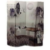 Poet's Dream Chinese Painting Room Divider