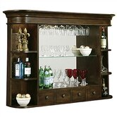 Niagara Hutch Back Bar in Rustic Cherry