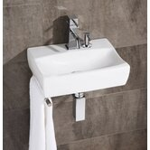 Tivol Washbasin in White