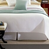 Erika Bed Skirt in White